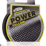 Шнур Stream Power Yellow 135m