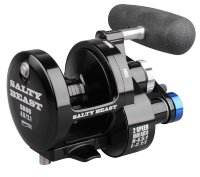 Катушка-мультипликатор SPRO Salty Beast Reel 2-Speed SB06 BK/BL 7+1BB