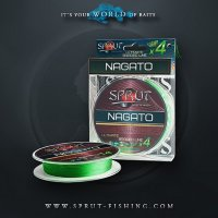 Шнур Sprut NAGATO Hard Ultimate Braided Line x4 (95m/Neon Green)