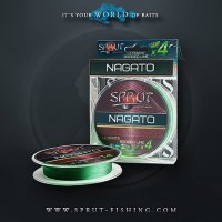 Шнур Sprut NAGATO Hard Ultimate Braided Line x4 (140m/Dark Green)