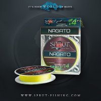 Шнур Sprut NAGATO Hard Ultimate Braided Line x4 (140m/Fluo Yellow)