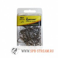 Крючок-тройник Kumyang Premium Hook 3551A (high carbon steel)
