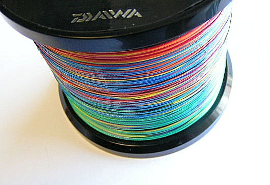 Daiwa tournament 8 braid multicolor 300м 0.42мм