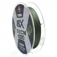 Шнур Kaida 8X Tech (Green, 100m)