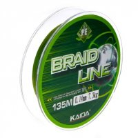 Шнур Kaida Braid Line Extreme (Green, 135m)