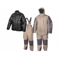 Костюм зимний Gamakatsu Hyper Thermal Suit(3в1,Khaki)